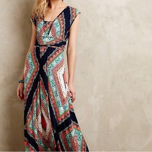 Anthropologie Maeve Maxi Dress, Small
